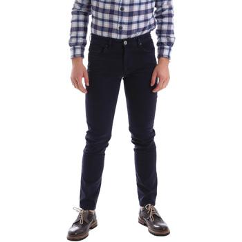 vaatteet Miehet 5-taskuiset housut Sei3sei 02396 Sininen