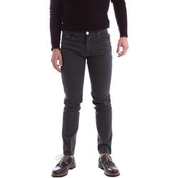 vaatteet Miehet 5-taskuiset housut Sei3sei 02396 Harmaa