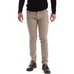 vaatteet Miehet 5-taskuiset housut Sei3sei 02396 Beige