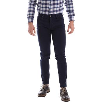vaatteet Miehet 5-taskuiset housut Sei3sei 02696 Sininen