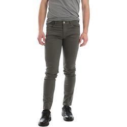 vaatteet Miehet 5-taskuiset housut Sei3sei 02696 Vihreä