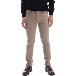 vaatteet Miehet 5-taskuiset housut Sei3sei 02696 Beige