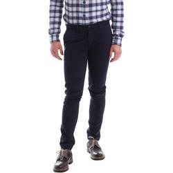 vaatteet Miehet Chino-housut / Porkkanahousut Sei3sei 02396 Sininen