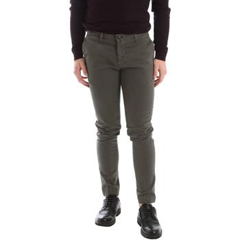 vaatteet Miehet Chino-housut / Porkkanahousut Sei3sei 02396 Vihreä