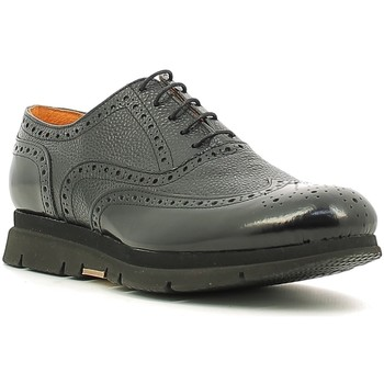 kengät Miehet Derby-kengät Rogers 3863-6 Musta