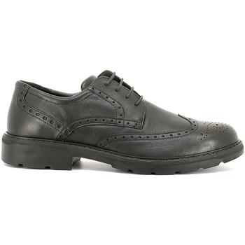 kengät Miehet Derby-kengät Enval 6872 Musta