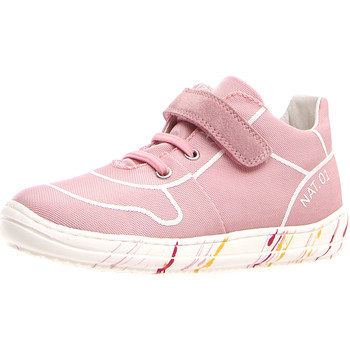 kengät Tytöt Matalavartiset tennarit Naturino 2013463-03-0M02 Vaaleanpunainen