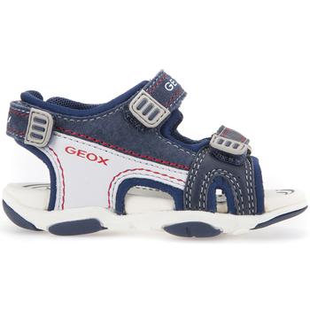 kengät Lapset Urheilusandaalit Geox B821AA 08522 Sininen