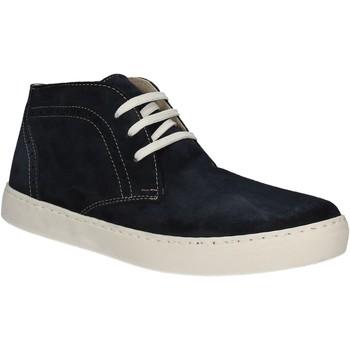 kengät Miehet Korkeavartiset tennarit Café Noir XN601 Sininen