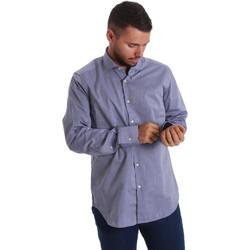 vaatteet Miehet Pitkähihainen paitapusero Gmf 971134/05 Sininen