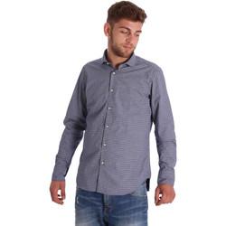 vaatteet Miehet Pitkähihainen paitapusero Gmf 971192/03 Sininen