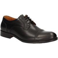 kengät Miehet Derby-kengät Rogers 1602B Musta