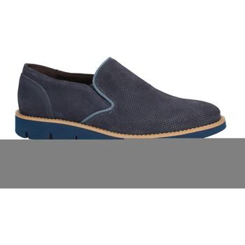 kengät Miehet Mokkasiinit Rogers 1702B Sininen