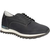 kengät Miehet Matalavartiset tennarit Alberto Guardiani SU744559A Sininen