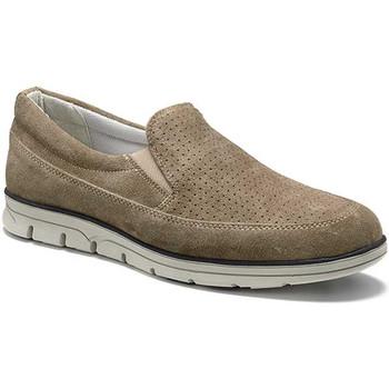 kengät Miehet Mokkasiinit Keys 3073 Beige