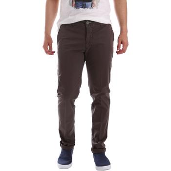 vaatteet Miehet Chino-housut / Porkkanahousut Sei3sei PZVI69 7148 Ruskea