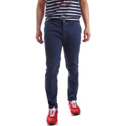 vaatteet Miehet Chino-housut / Porkkanahousut Sei3sei PZV20 71341 Sininen