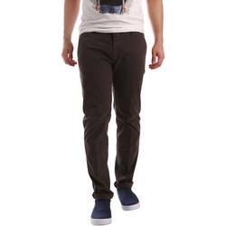 vaatteet Miehet Chino-housut / Porkkanahousut Sei3sei PZV20 71341 Ruskea