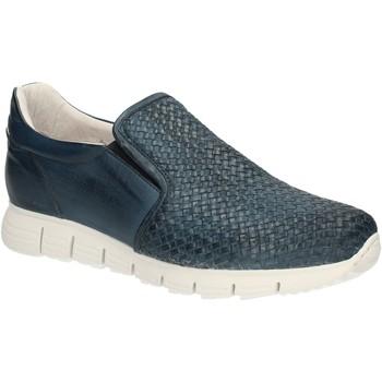 kengät Miehet Mokkasiinit Exton 339 Sininen