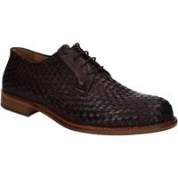 kengät Miehet Derby-kengät Exton 9910 Ruskea