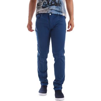 vaatteet Miehet 5-taskuiset housut Sei3sei PZV17 71339 Sininen
