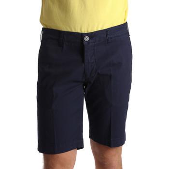 vaatteet Miehet Shortsit / Bermuda-shortsit Sei3sei PZV132 7182 Sininen