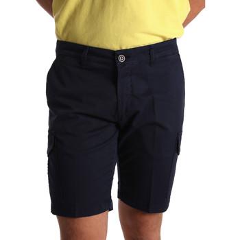 vaatteet Miehet Shortsit / Bermuda-shortsit Sei3sei PZV130 7148 Sininen
