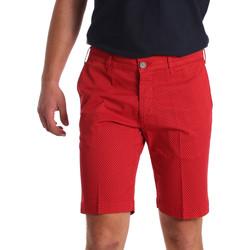 vaatteet Miehet Shortsit / Bermuda-shortsit Sei3sei PZV132 71336 Punainen