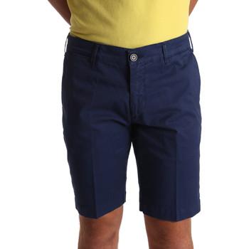 vaatteet Miehet Shortsit / Bermuda-shortsit Sei3sei PZV132 71336 Sininen
