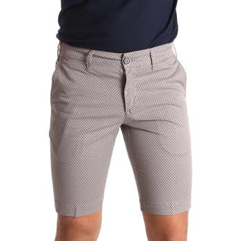 vaatteet Miehet Shortsit / Bermuda-shortsit Sei3sei PZV132 71336 Ruskea