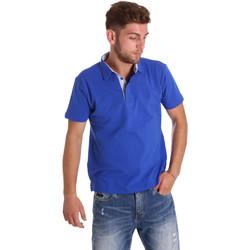 vaatteet Miehet Lyhythihainen poolopaita Bradano 000116 Sininen