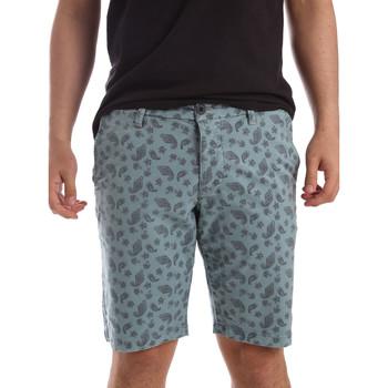 vaatteet Miehet Shortsit / Bermuda-shortsit Ransom & Co. BRAD-P155 Sininen