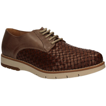 kengät Miehet Derby-kengät Keys 3041 Ruskea