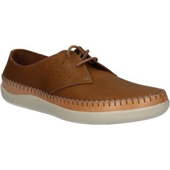 kengät Miehet Derby-kengät Clarks 123879 Ruskea