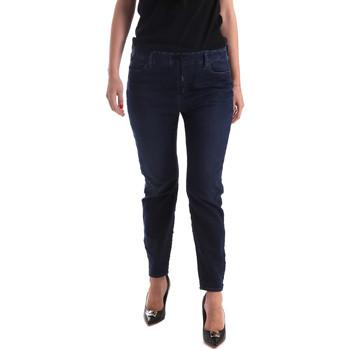 vaatteet Naiset Slim-farkut Gas 365759 Sininen