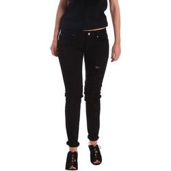 vaatteet Naiset Boyfriend-farkut Gaudi 73BD24205 Musta