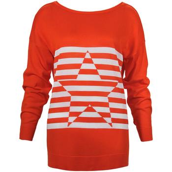 vaatteet Naiset Neulepusero Denny Rose 73DR15013 Oranssi