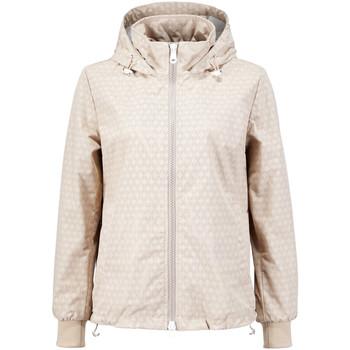 vaatteet Naiset Pusakka Geox W7220X T2327 Beige