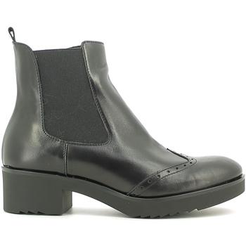 kengät Naiset Nilkkurit Susimoda 856884 Musta