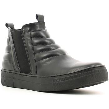 kengät Naiset Korkeavartiset tennarit Café Noir XV101 Musta