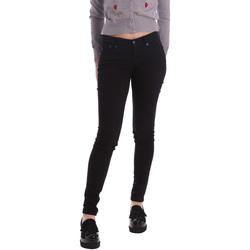 vaatteet Naiset Skinny-farkut Pepe jeans PL210004T412 Musta