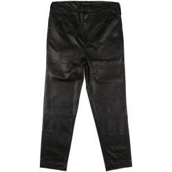 vaatteet Naiset Chino-housut / Porkkanahousut Fornarina BIF1I84P27900 Musta