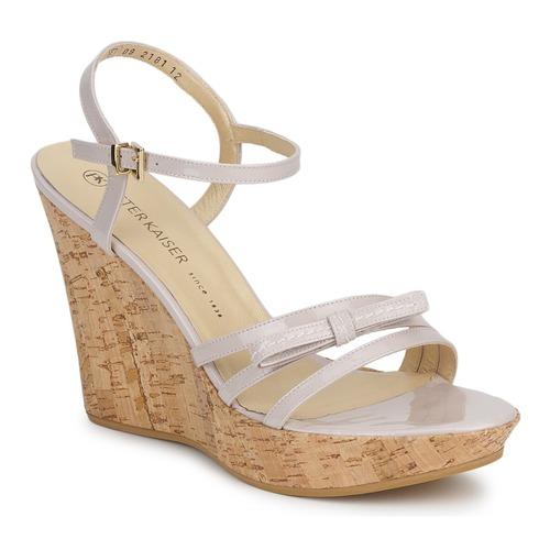 kengät Naiset Sandaalit ja avokkaat Peter Kaiser RUTH Beige