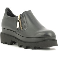 kengät Naiset Mokkasiinit Fornarina PIFST9576WCA0000 Musta