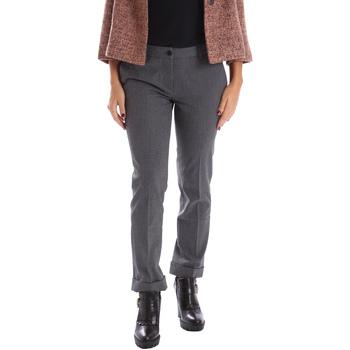 vaatteet Naiset Chino-housut / Porkkanahousut Gazel AB.PA.LU.0040 Harmaa