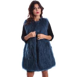 vaatteet Naiset Paksu takki Gazel AB.CS.GL.0001 Sininen