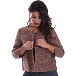 vaatteet Naiset Paksu takki Gazel AB.CS.GI.0043 Vaaleanpunainen