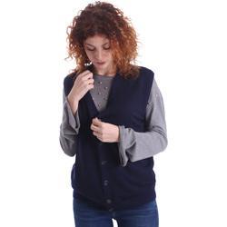 vaatteet Naiset Neuleet / Villatakit Wool&co WO0004 Sininen