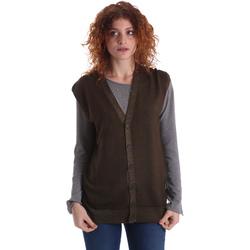 vaatteet Naiset Neuleet / Villatakit Wool&co WO0004 Vihreä