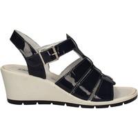 kengät Naiset Sandaalit ja avokkaat Enval 7986 Sininen